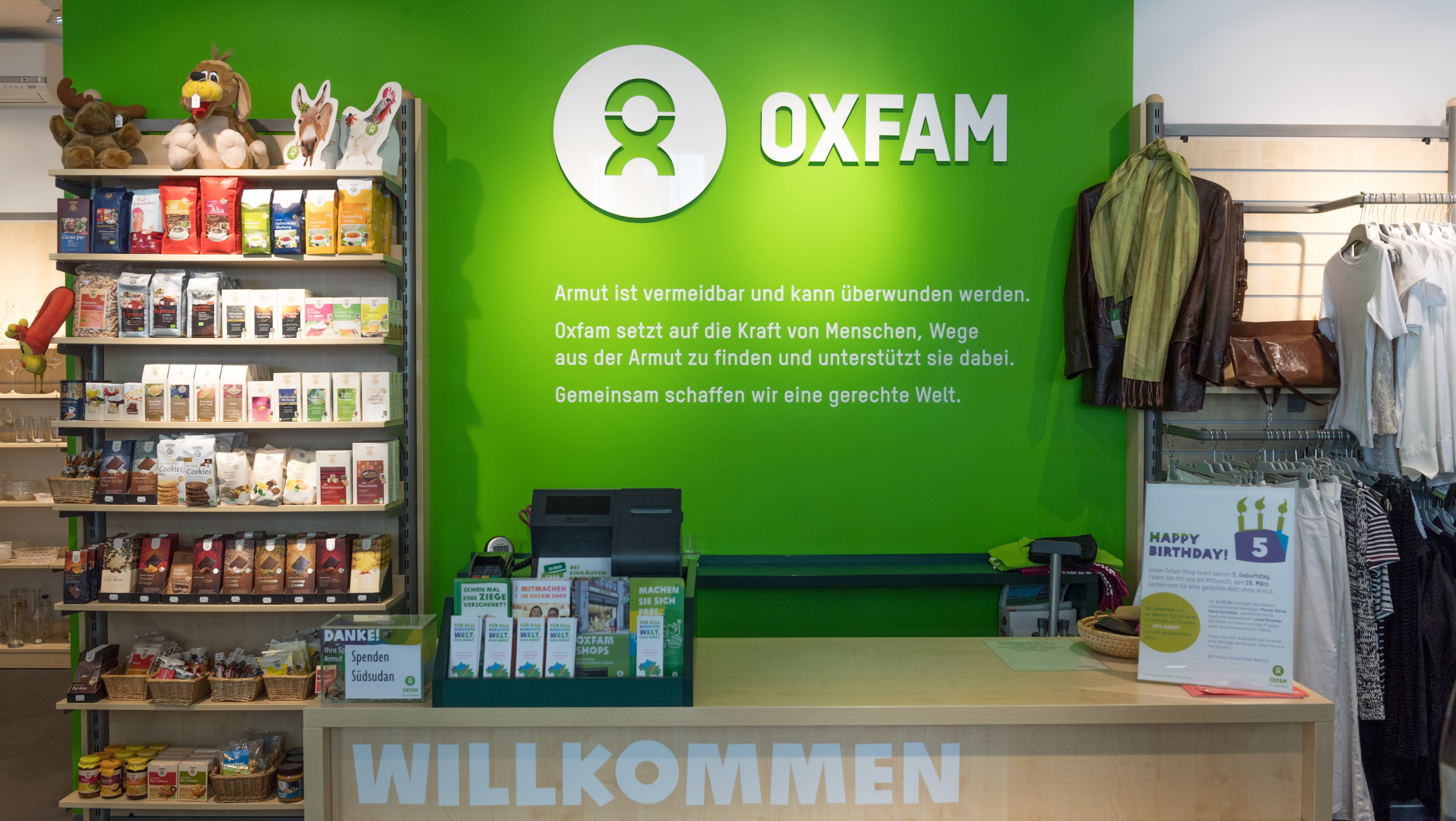 Oxfam Shop München-Isarvorstadt - Kasse