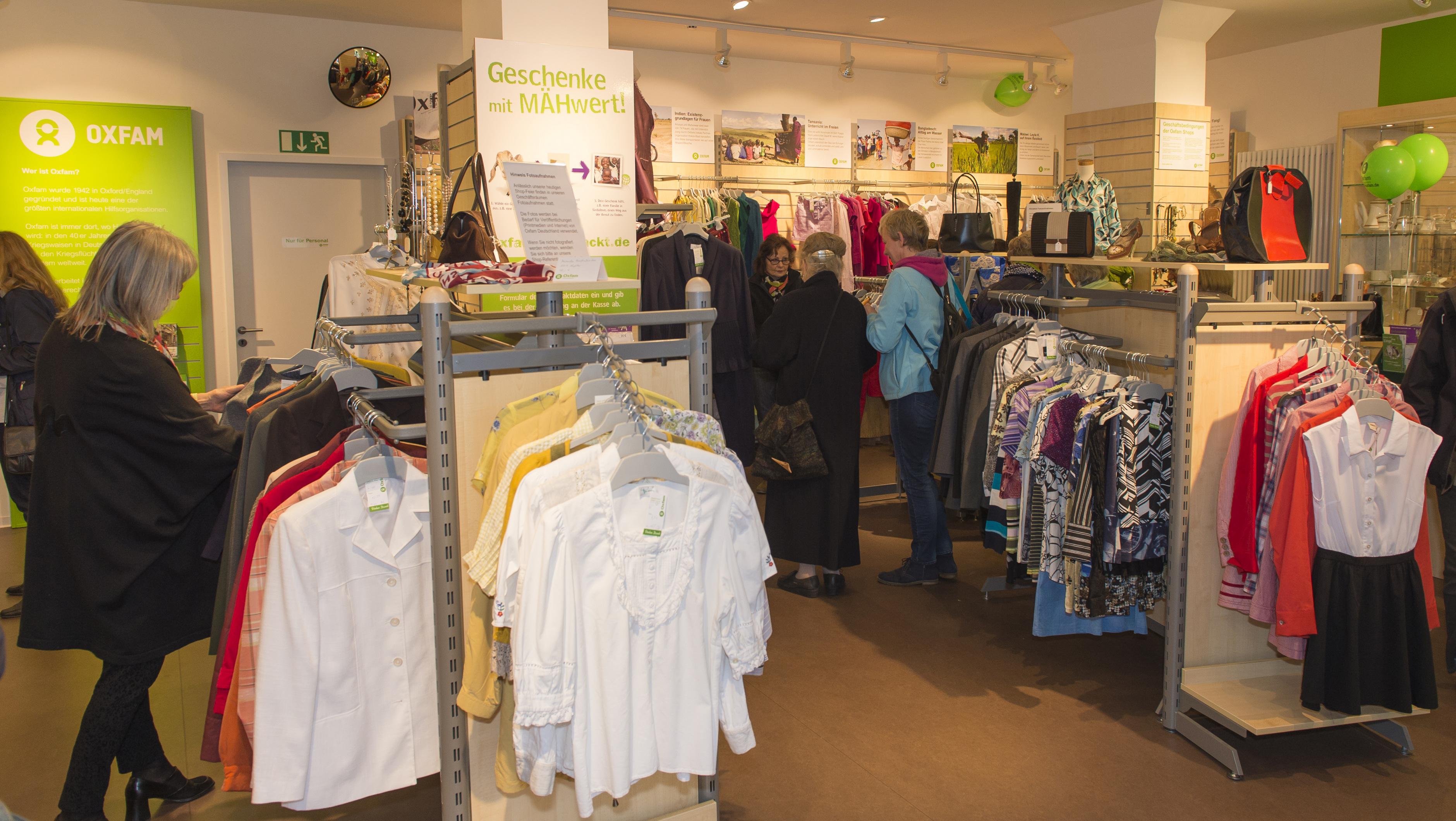Oxfam Shop Bielefeld - Innenansicht