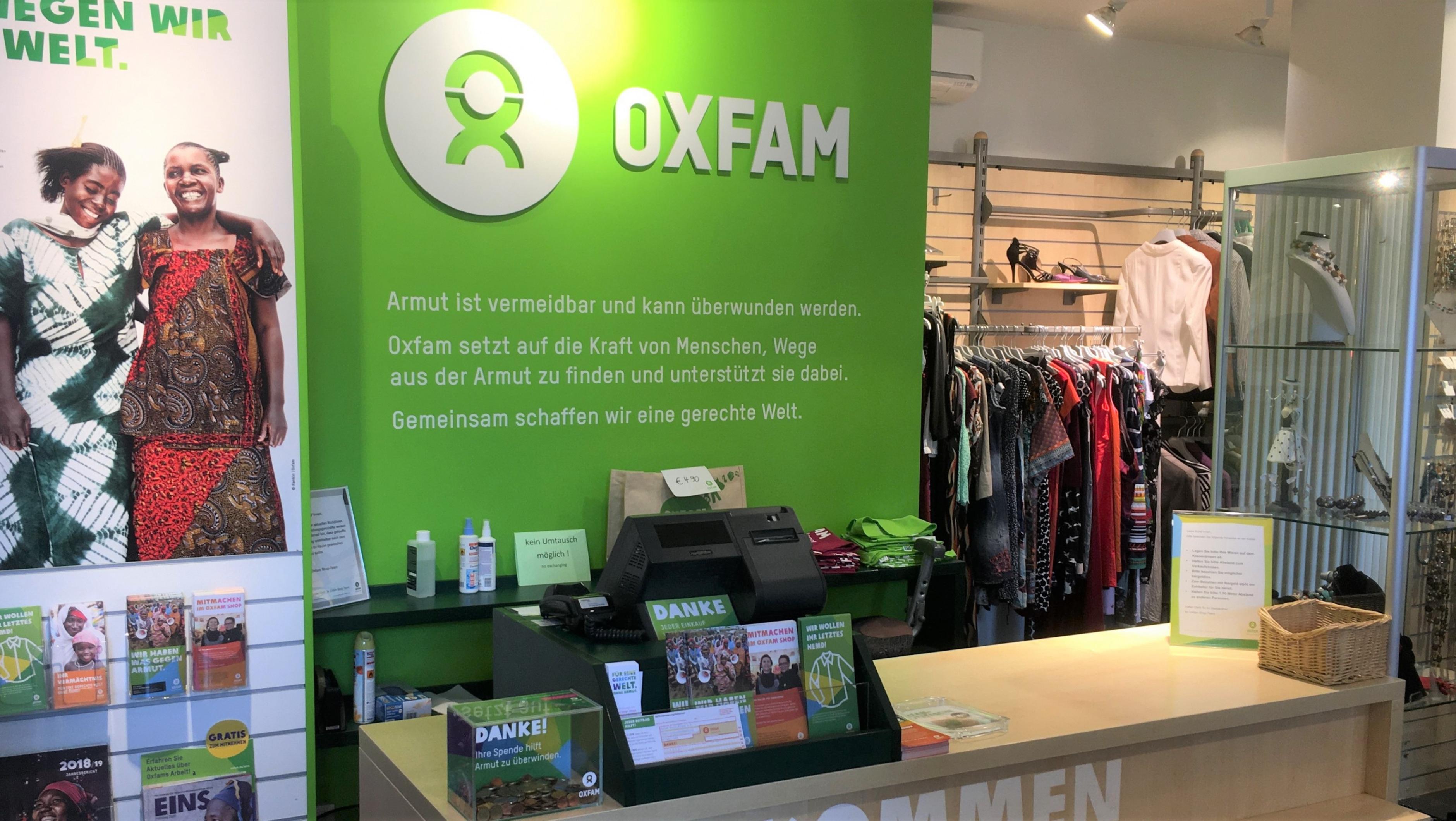 Oxfam Shop Frankfurt-Bockenheim Innenansicht