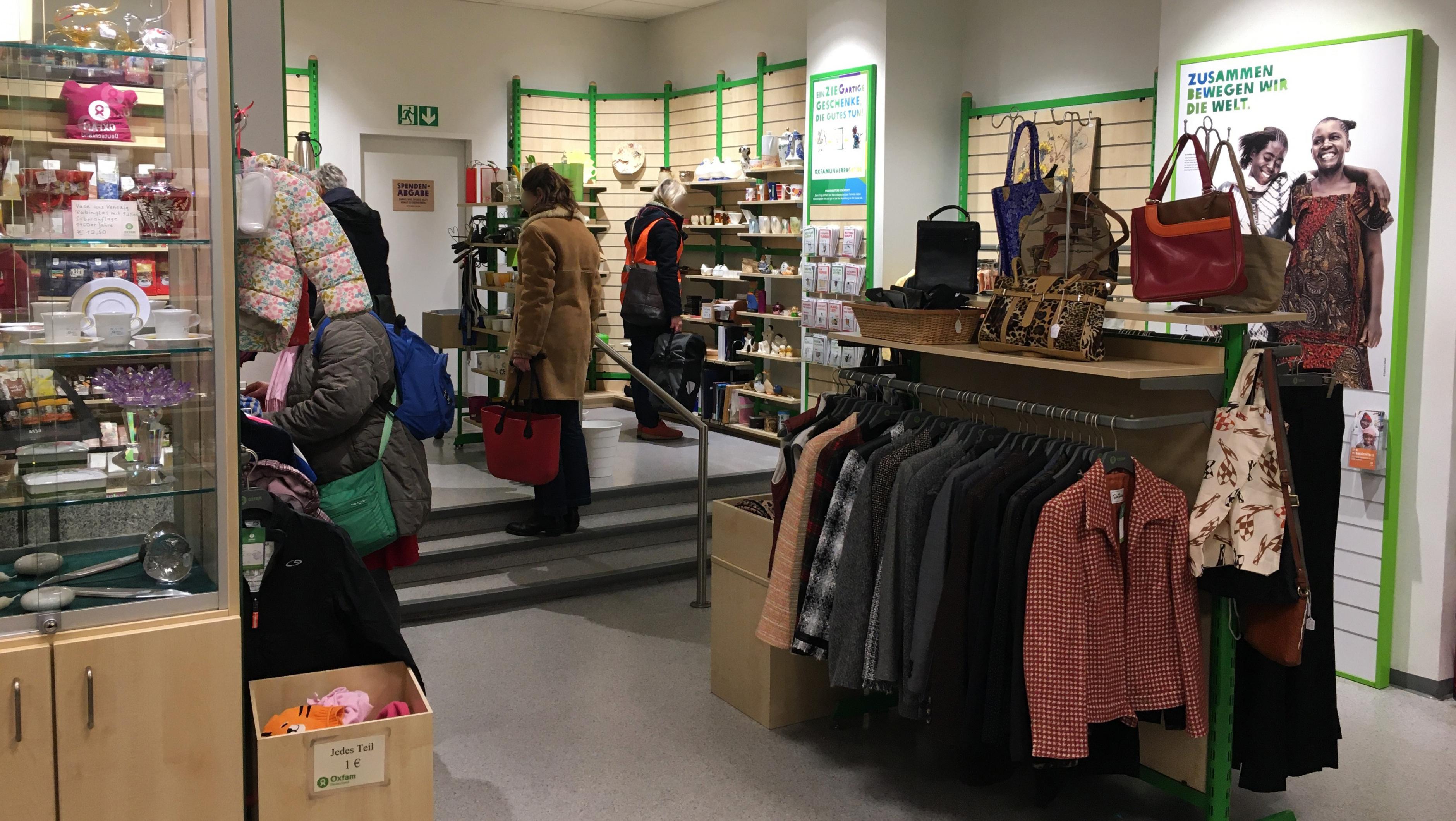 Oxfam Shop Berlin-Schöneberg - Innenansicht