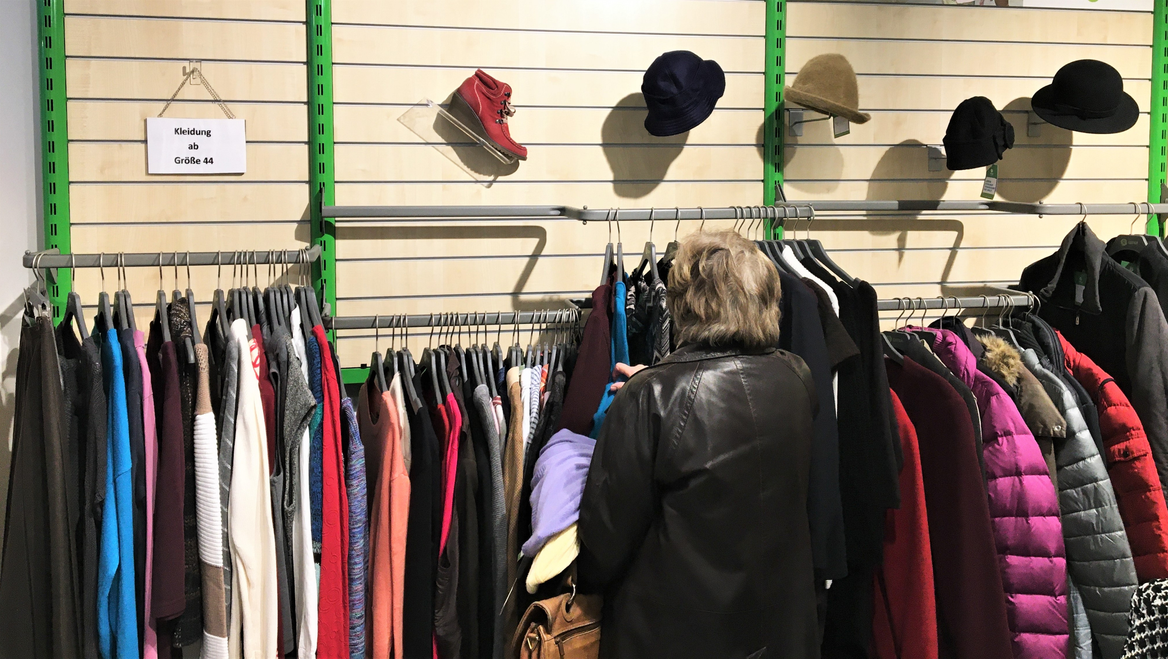 Oxfam Shop Münster - Innenansicht