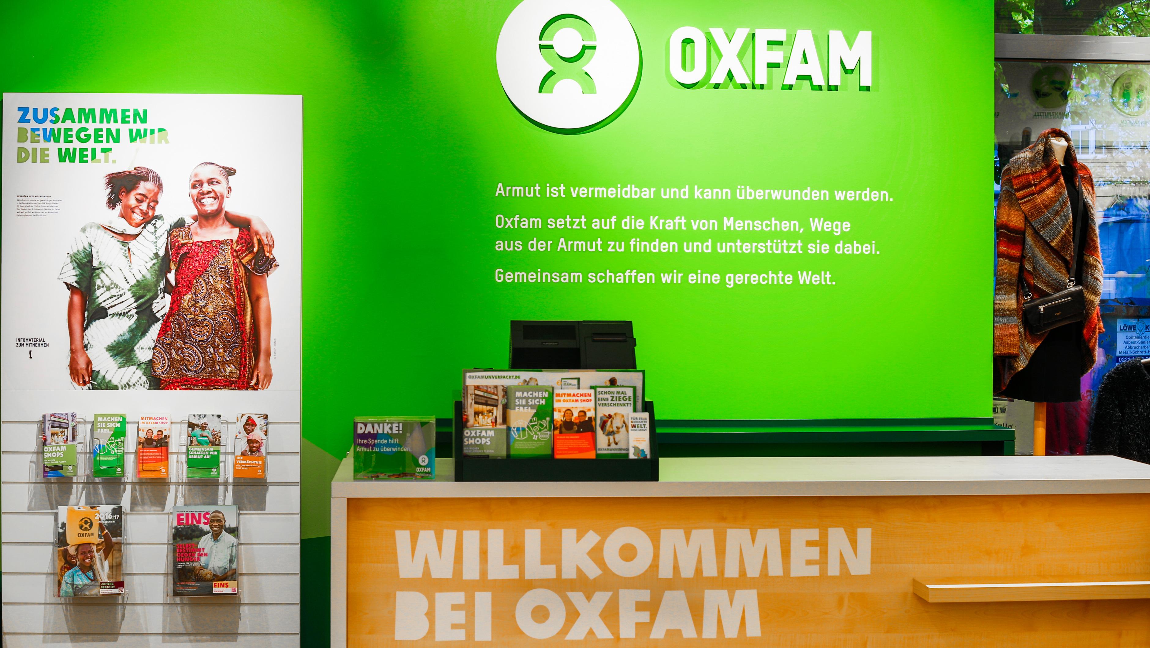 Oxfam Shop Köln-Neustadt - Innenansicht