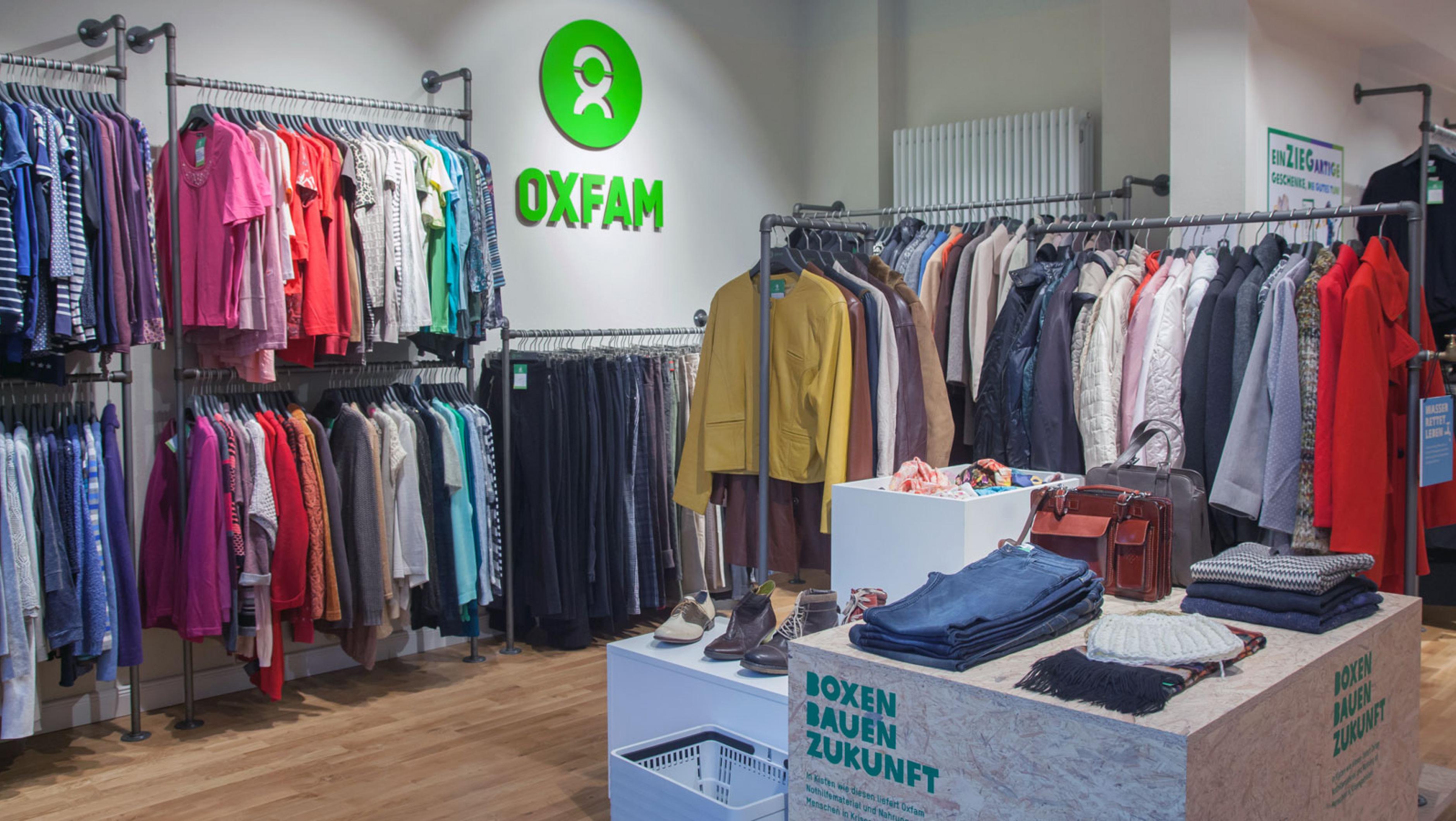 Oxfam Shop Potsdam - Innenansicht