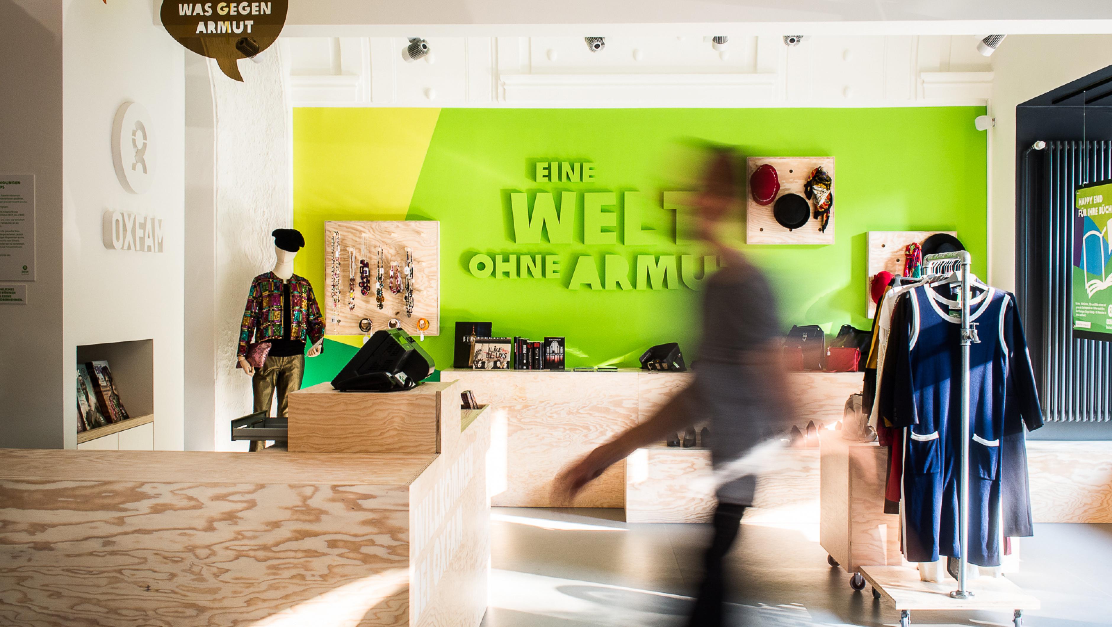 Oxfam MOVE Berlin - Innenansicht