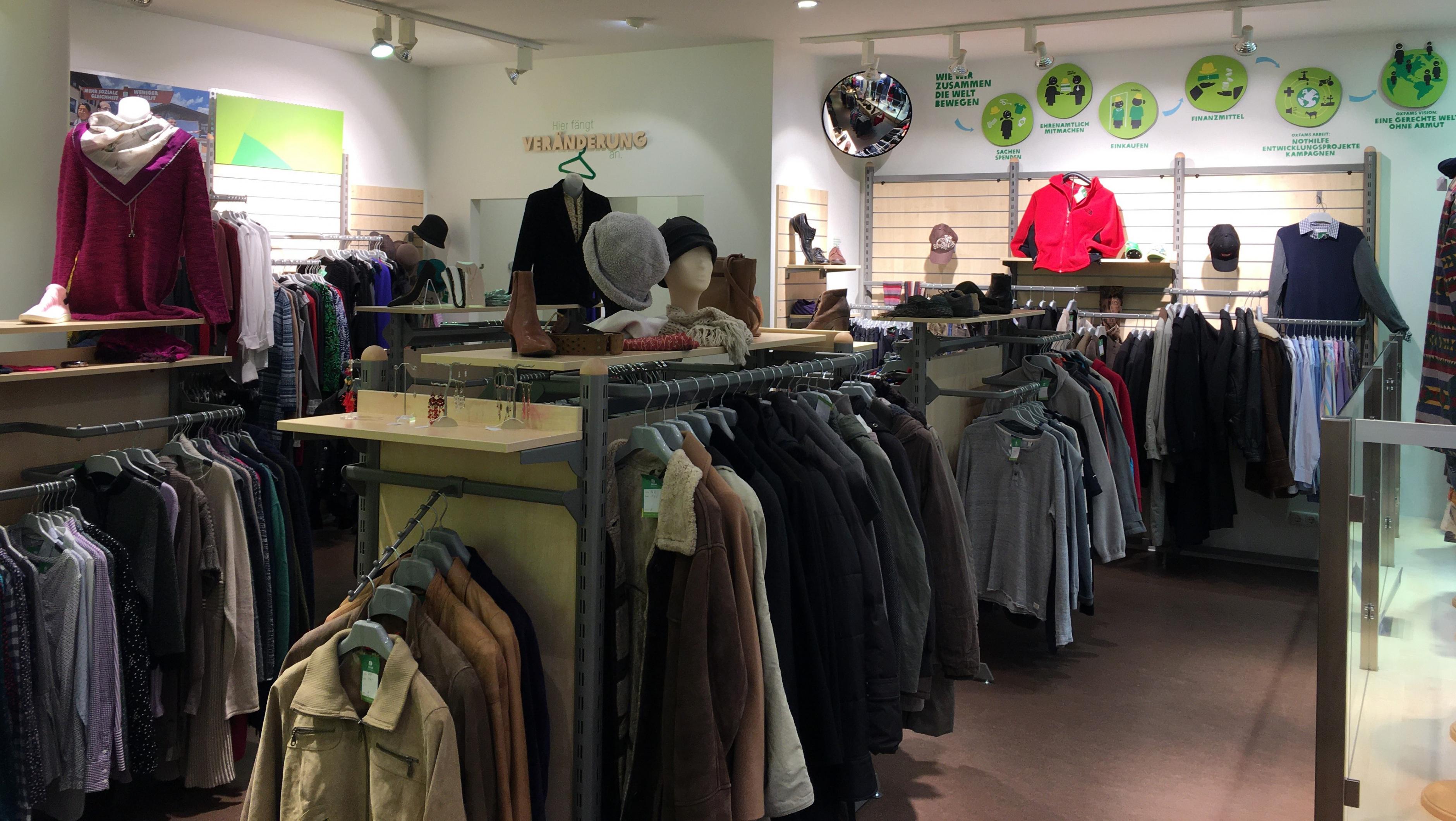 Oxfam Shop Hamburg-Ottensen - Innenansicht