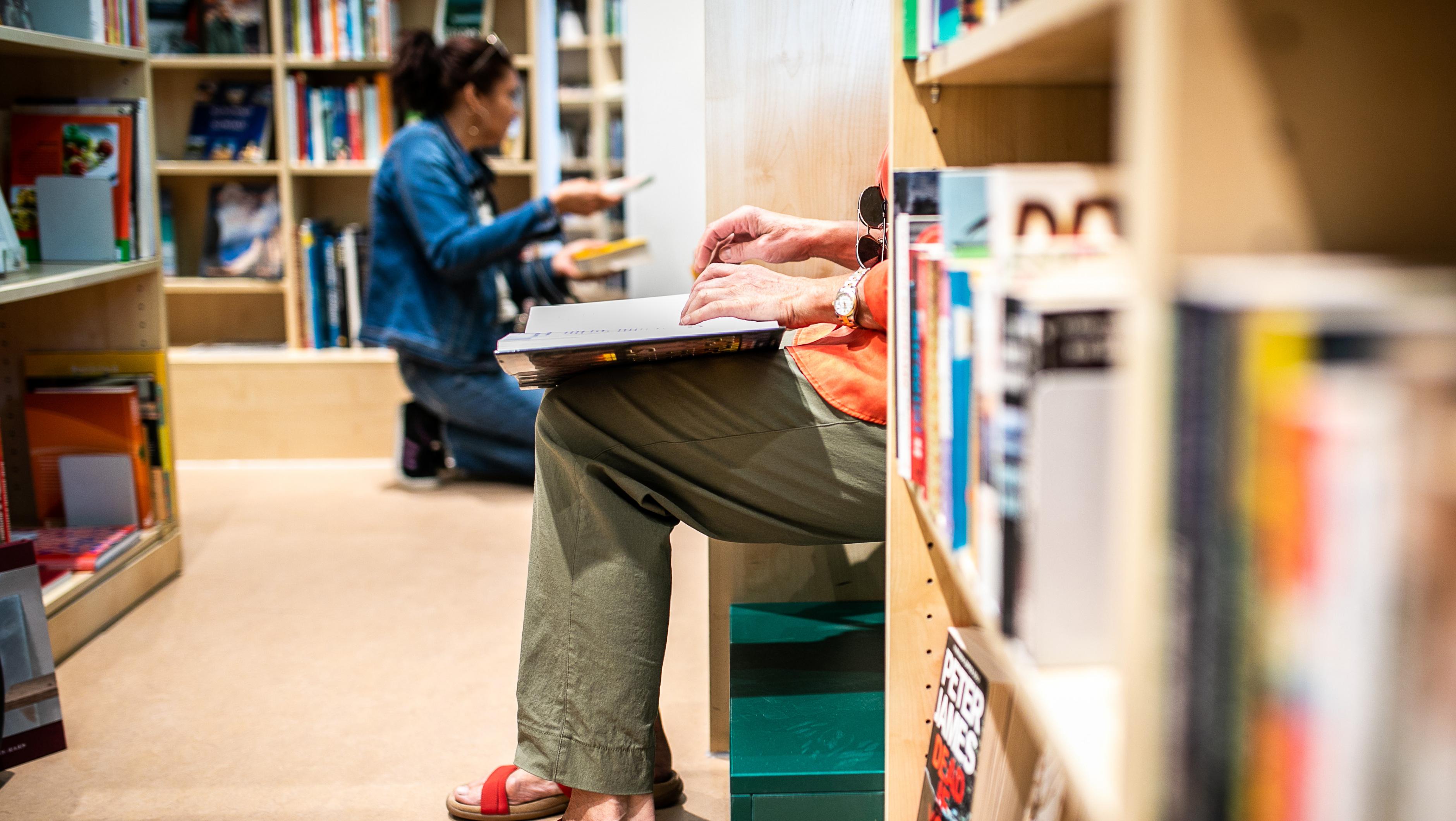 Oxfam Buchshop Berlin-Schöneberg - Leseecke